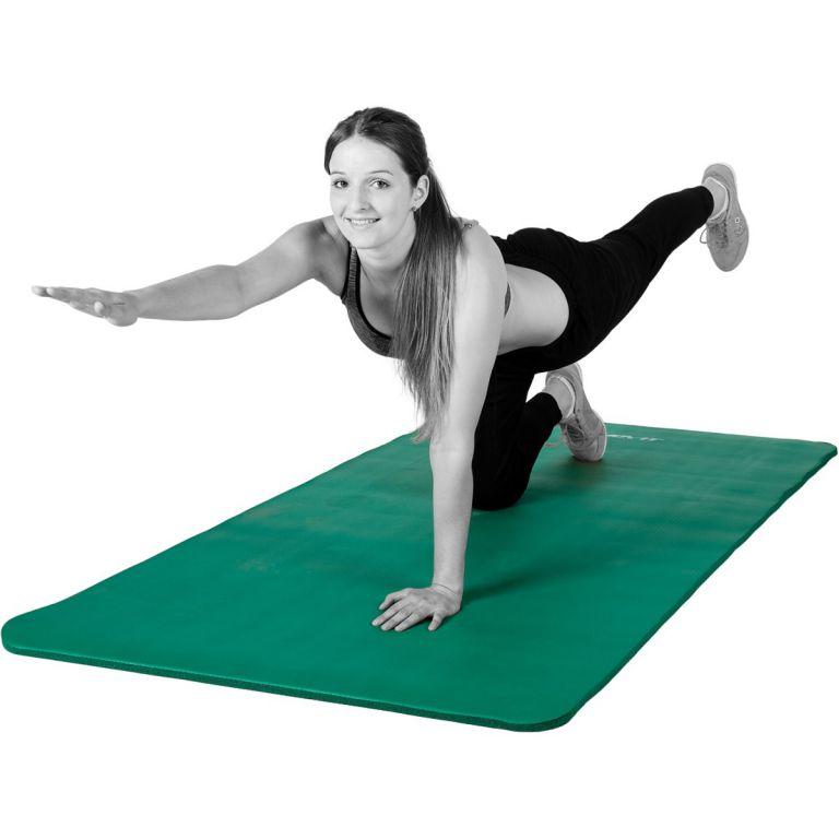 Podložka na cvičení MOVIT 190 x 60 x 1,5 cm – zelená