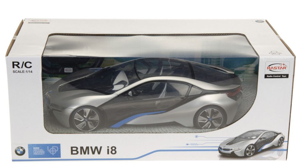 Originální RC BMW i8 v měřítku 1:14 - 2 barvy