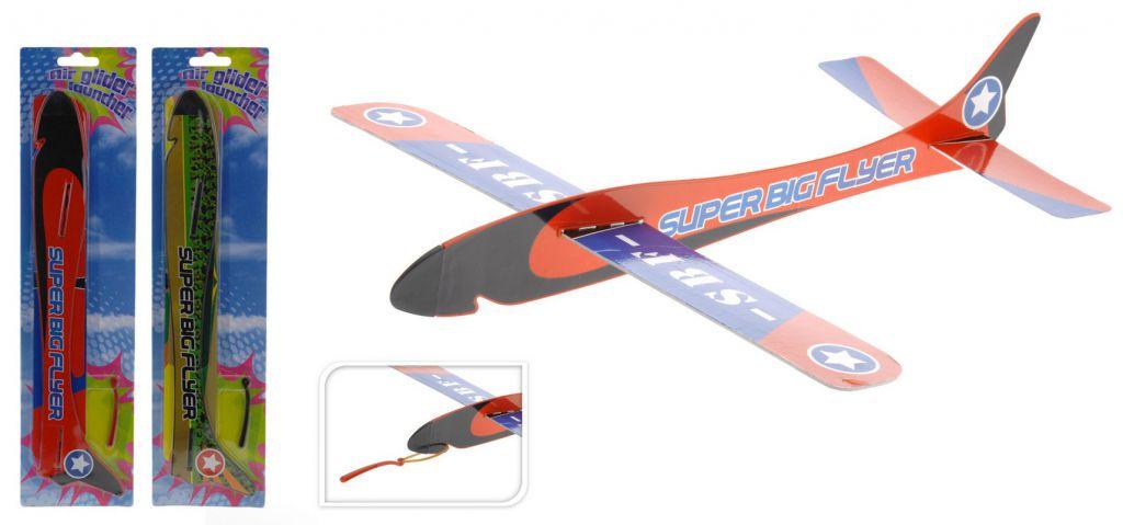 Papírové házecí/vystřelovací letadlo H - 2 barvy