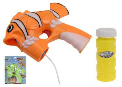 Bublifuk na baterie s osvětlením - motiv Nemo