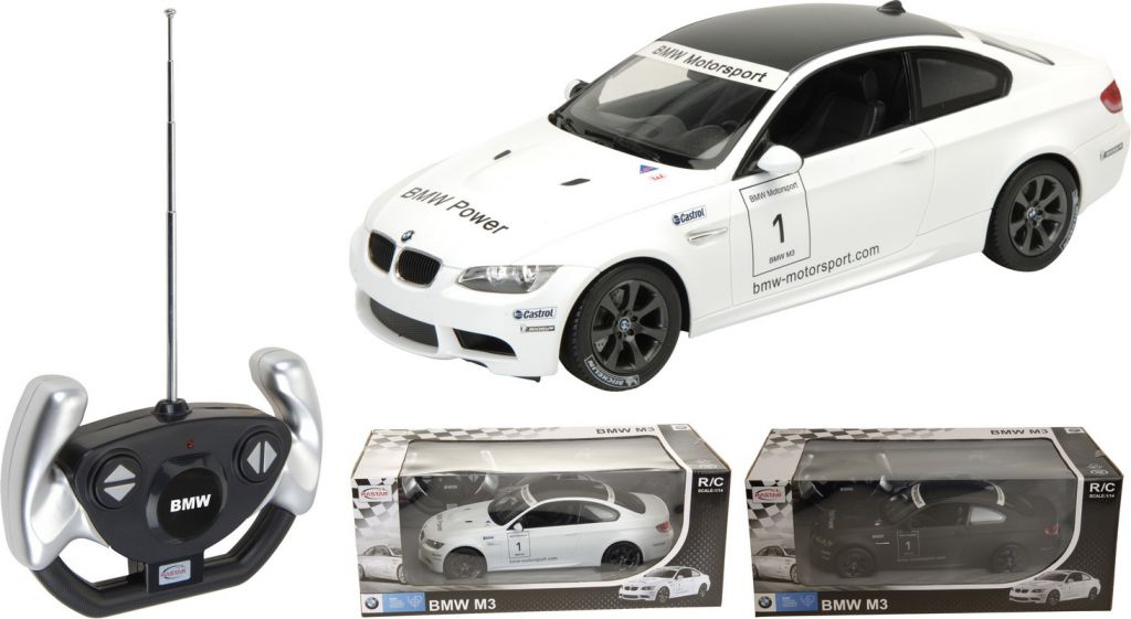 RC model BMW M3 v měřítku 1:14