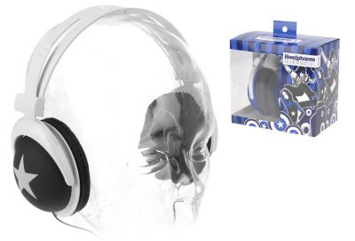 Designová sluchátka pro mládež - 3,5 mm jack - 5 barev