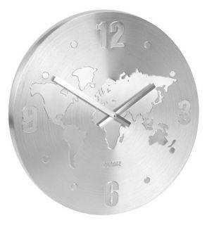 Nástěnné závěsné hodiny SVĚT 40 cm