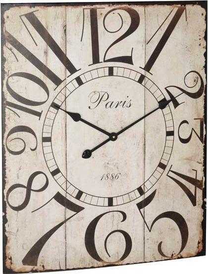 Nástěnné hodiny PARIS ANTIK 58 x 70 cm