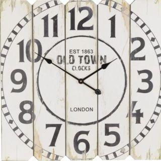 Nástěnné hodiny SQUARE 68 x 68 cm - OLD TOWN