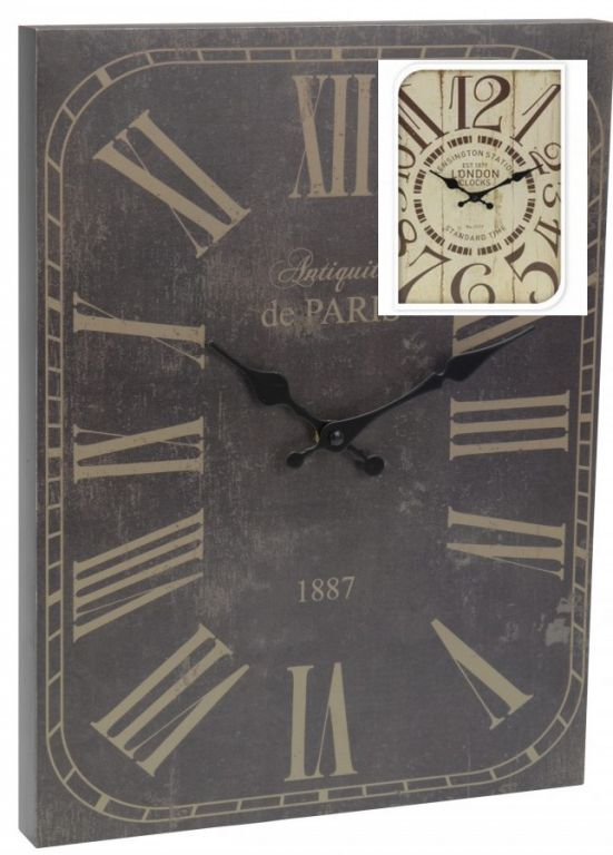 Nástěnné hodiny ANTIK 30 x 39 cm LONDÝN AM35640