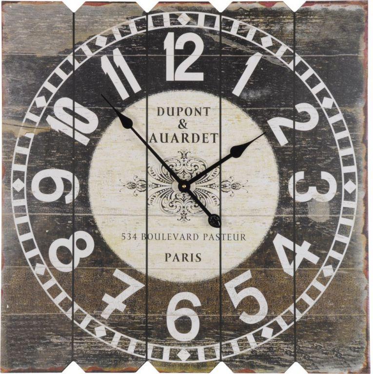 Nástěnné hodiny SQUARE 68 x 68 cm - DUPONT & AUARDET
