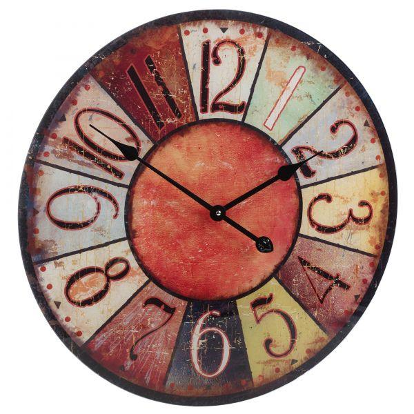 Nástěnné hodiny ROUND 57 cm - AUTUMN
