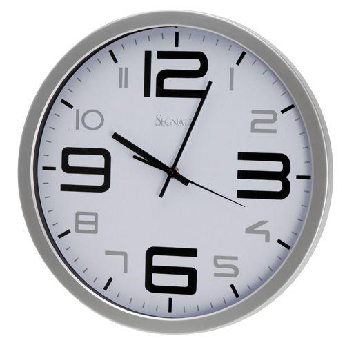 Nástěnné hodiny SEGNALE 35 cm - BÍLÁ