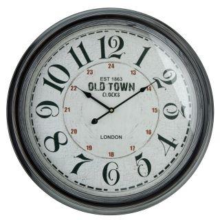 Nástěnné hodiny 63 cm - OLD TOWN
