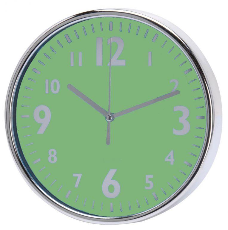 Nástěnné hodiny 20 x 3,6 cm - ZELENÉ