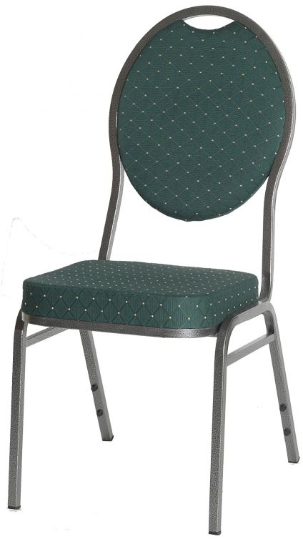 Kvalitní kovová židle Monza  - zelená