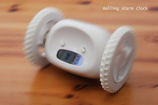 Robotický budík