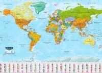 Mapa světa XXL - plakát