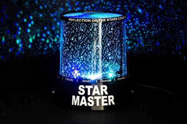 LED hvězdný projektor