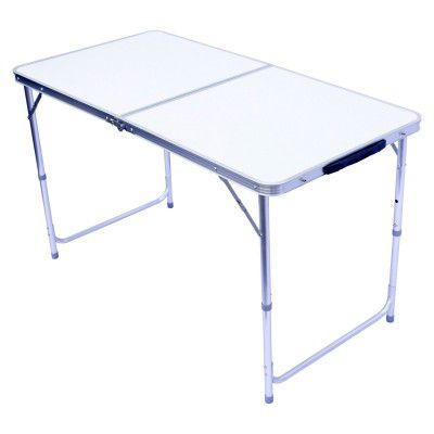 Hliníkový sklopný přenosný stůl – 120x60cm