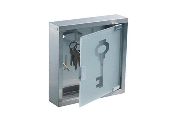Nerezová skříňka na klíče