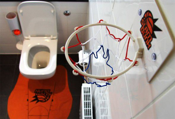 Mini WC basketbalová sada