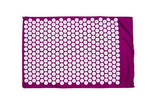 Akupresurní jogínská podložka – fialová