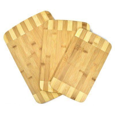 Sada 3 ks bambusových prkének