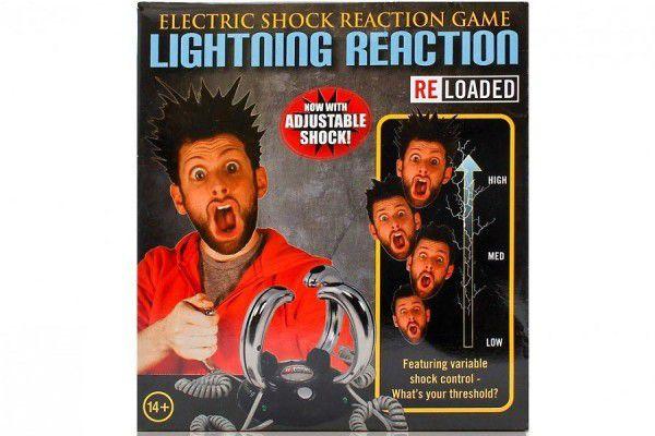 Hra s elektrickým šokem - Lightning Reaction Reloaded 2.0