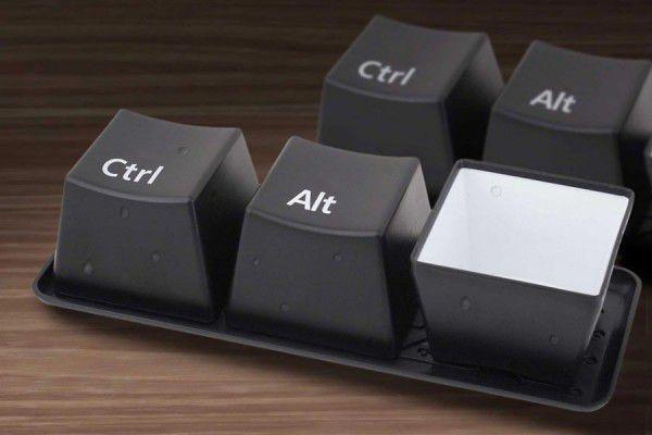 hrnečky Ctrl + Alt + DEL