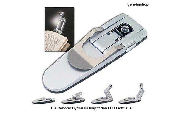 LED lampa pro noční četbu – lampička