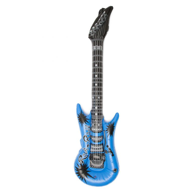 Nafukovací kytara v Rock'n Roll stylu