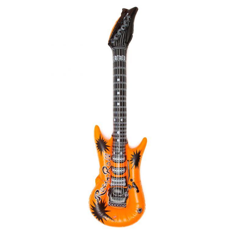 Nafukovací kytara pro pravé rokery