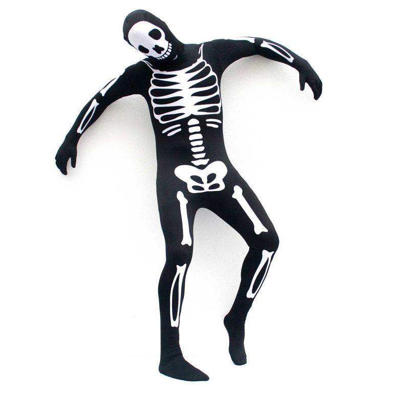 Karnevalový kostým  kostra - velikost M