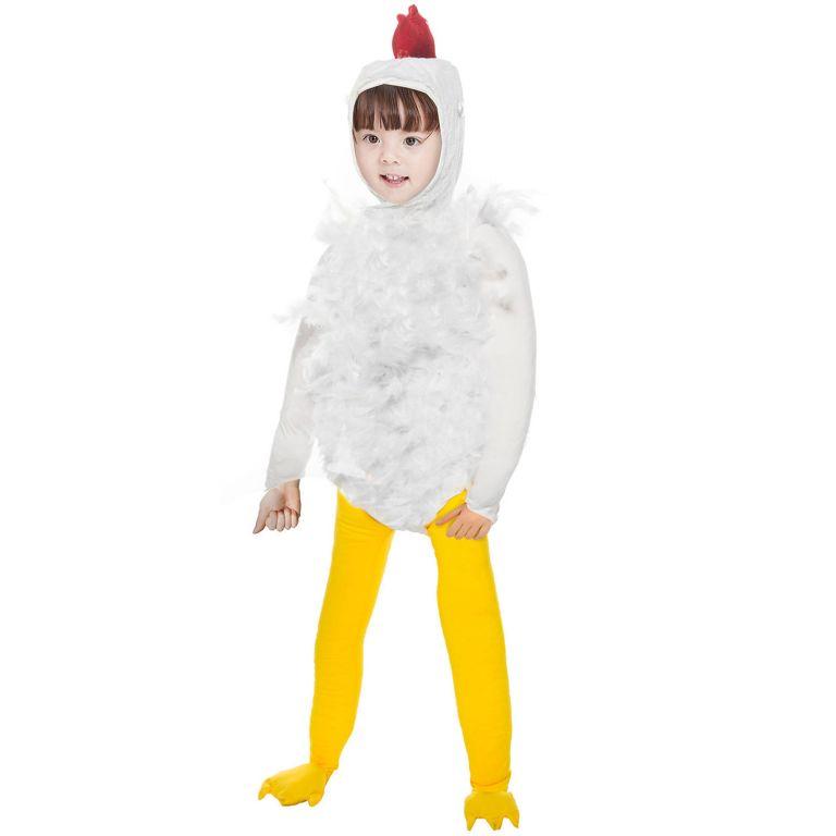 Dětský kostým kuřete - velikost S