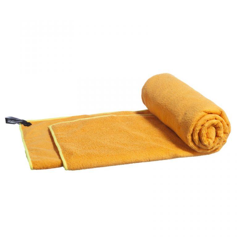 Ručník z mikrovlákna, oranžový, 120 x 60 cm