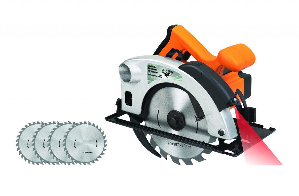 Pila okružní set SH 1200 Laser 1200 W