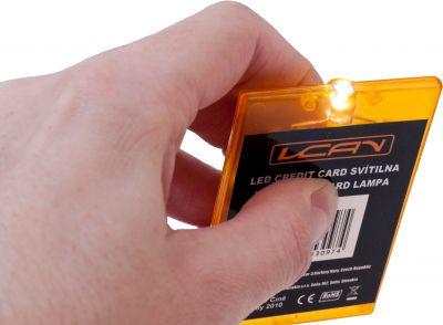 LED Credit Card svítilna