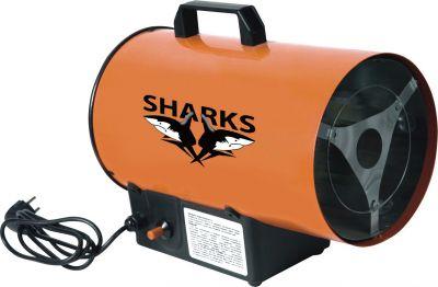 Plynová horkovzdušná turbína Sharks 10S