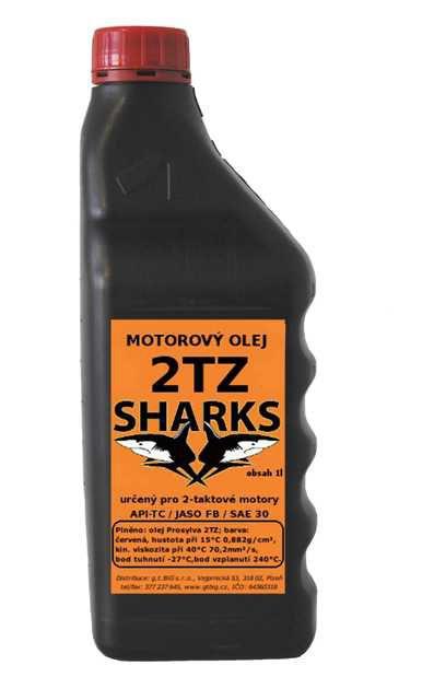 Sharks 1903 motorový olej 2TZ