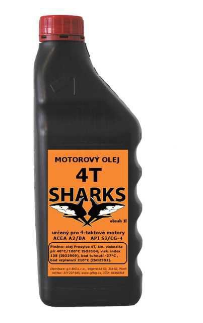 Sharks 4T Olej