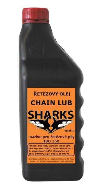 Sharks chain lub - reťazový olej SH RO