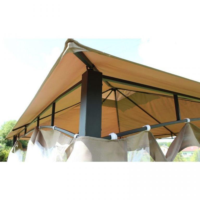 Zahradní párty stan - altán Monte - 3,65 x 3 m