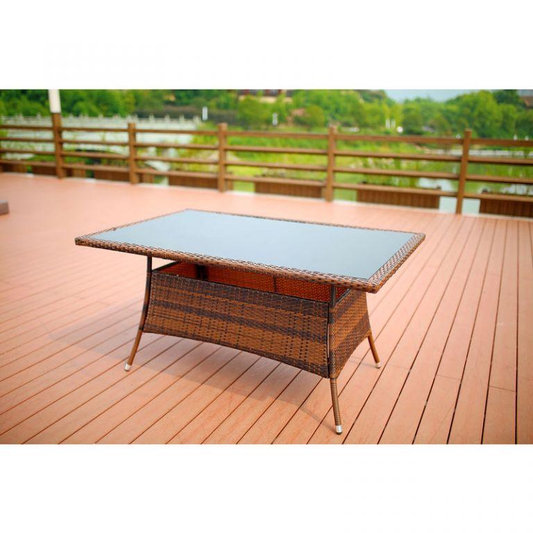 Ratanový stůl – Ebro