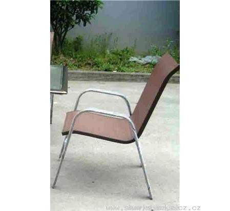 Židle k zahradnímu nábytku Jasin a Nerang – fialový výplet