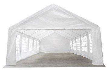 Zahradní párty stan 5x10 m bílý