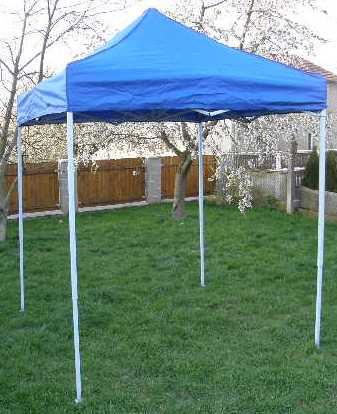 Zahradní párty stan CLASSIC nůžkový – 2 x 2 m modrý