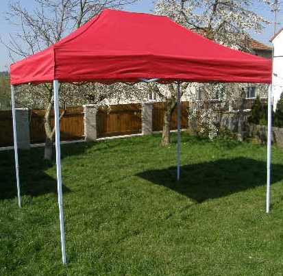 Zahradní párty stan OEM JL40969 CLASSIC nůžkový - 3 x 2 m červený