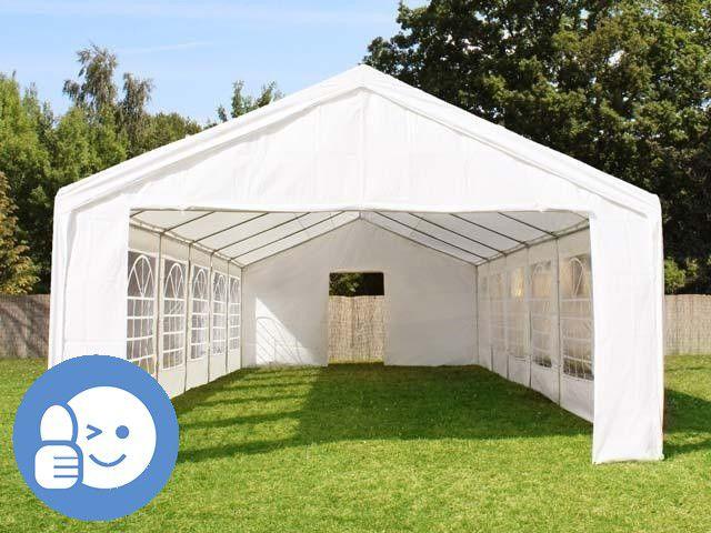 Zahradní párty stan OEM JL41521 CLASSIC 4 x 10 m - bílá