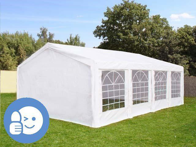 Zahradní párty stan OEM JL41527 CLASSIC 5 x 8 m - bílá
