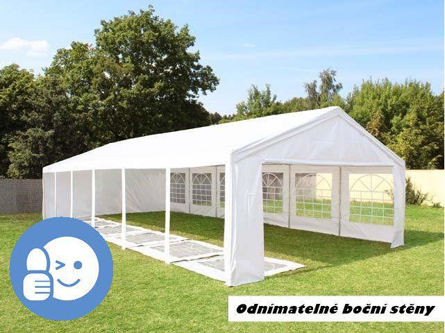 Zahradní párty stan OEM JL41528 CLASSIC 6 x 12 m - bílá