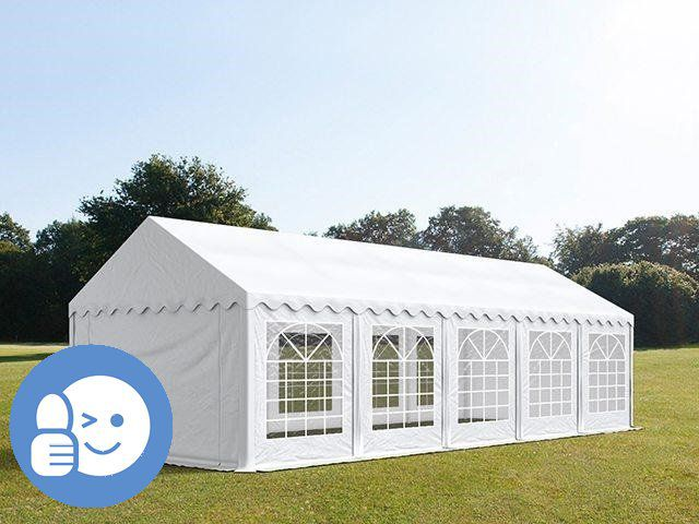 Zahradní párty stan ECONOMY 5 x 10 m – bílá