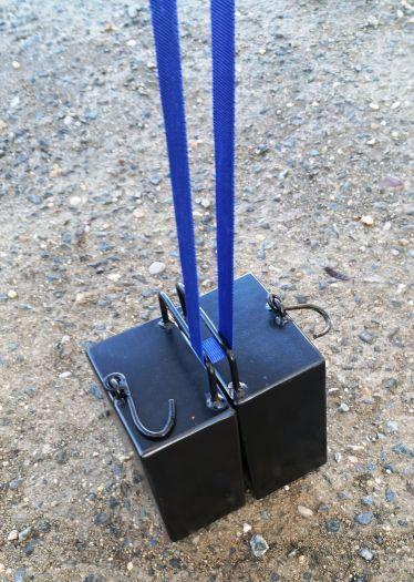 Závaží k zahradním párty stanům - 14 kg