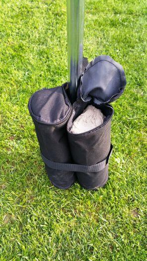 Závaží k zahradním párty stanům - pytel na písek